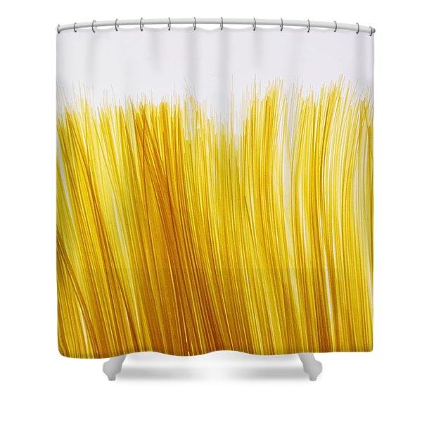 Spaghetti Shower Curtain by David Chapman