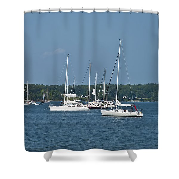 St. Mary's River Shower Curtain by Bill Cannon