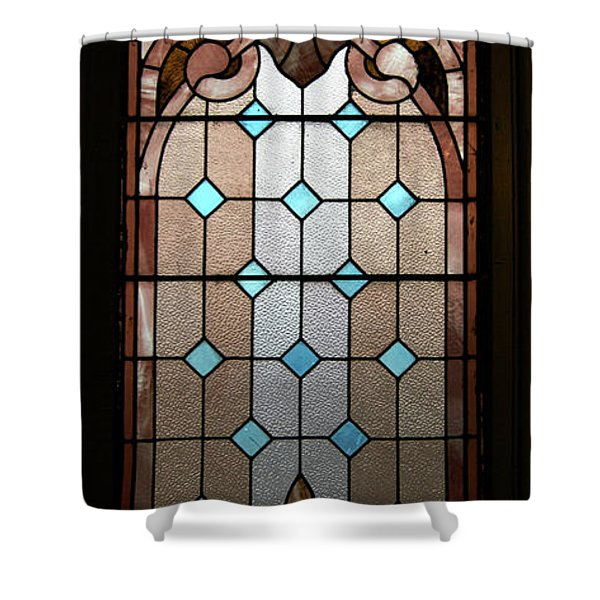 Stained Glass Lc 15 Shower Curtain by Thomas Woolworth