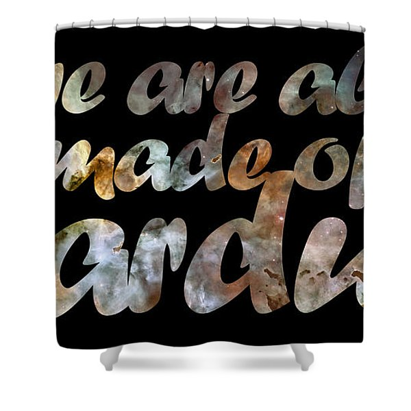 Stardust Shower Curtain by Nikki Marie Smith