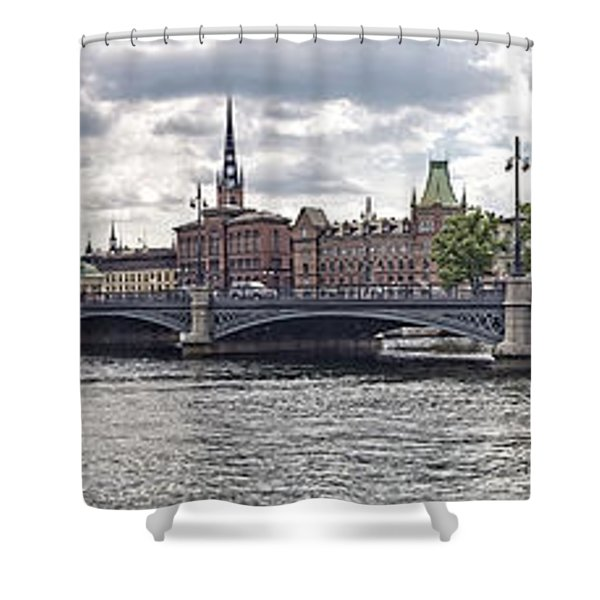 Stockholm Shower Curtain by Mauro Celotti