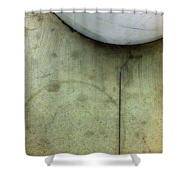 Streets Of New York Abstract Five Shower Curtain by Marlene Burns
