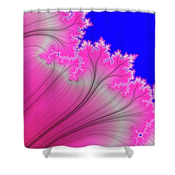 Summer Breeze Shower Curtain by Carolyn Marshall