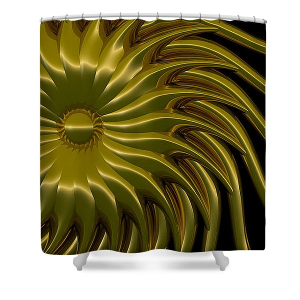 Sunflower Shower Curtain by Richard Rizzo