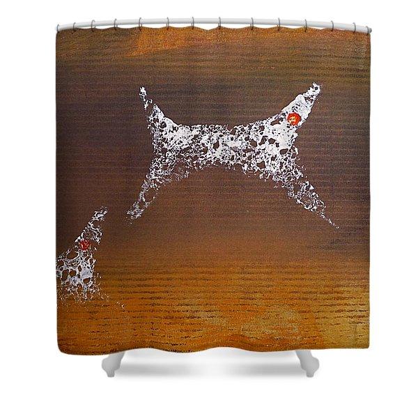 Sunkmanitu Shower Curtain by Charles Stuart