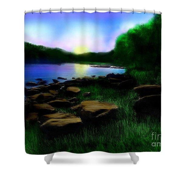 Sweet Dreams Shower Curtain by Lj Lambert