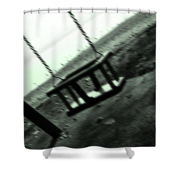 swing Shower Curtain by Joana Kruse