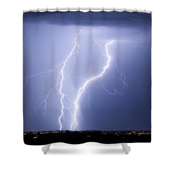 Taking It To The Street Shower Curtain by James BO  Insogna
