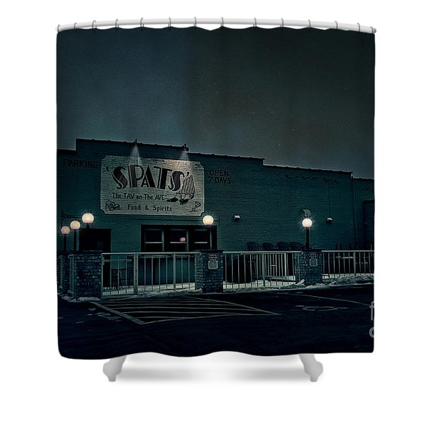 TAV on the AVE Shower Curtain by Joel Witmeyer