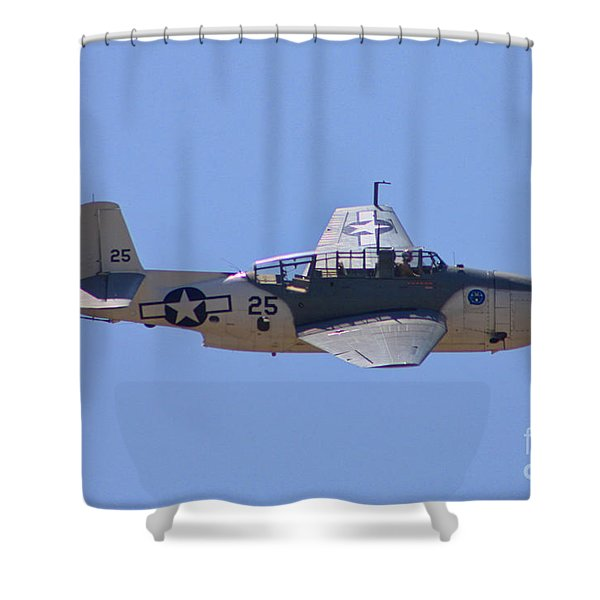 TBD Avenger Shower Curtain by Tommy Anderson