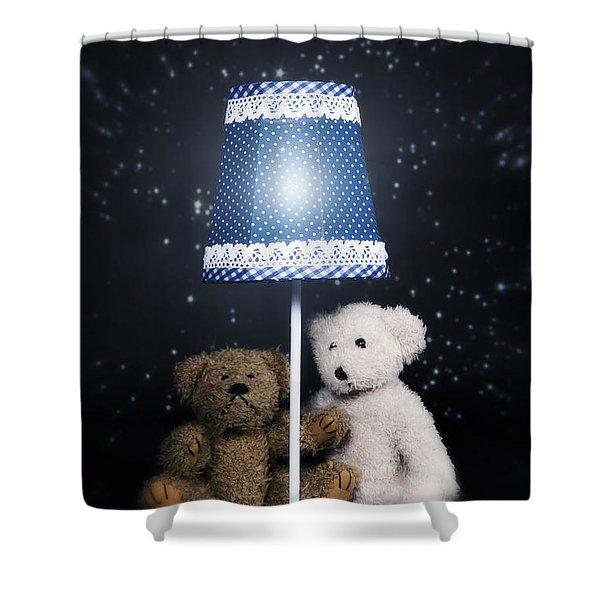 teddy bears Shower Curtain by Joana Kruse