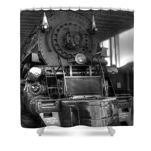 The 1218 Shower Curtain by Dan Stone