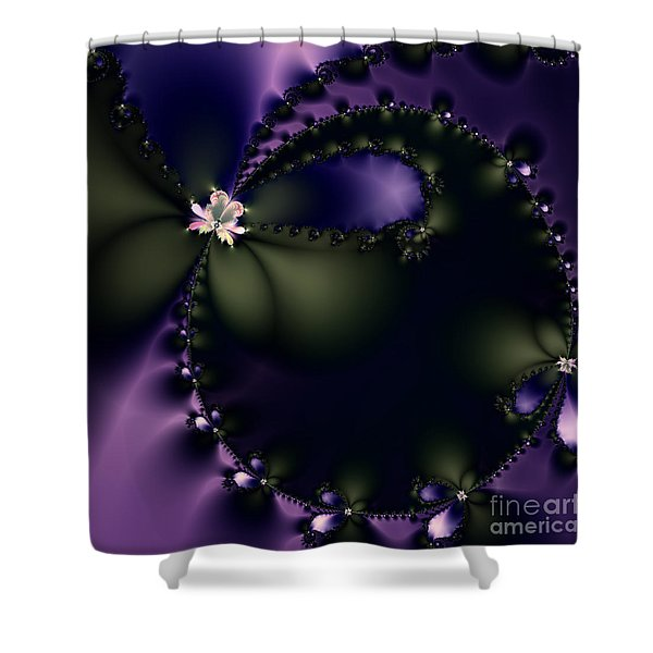 The Butterfly Effect . Square Shower Curtain by Wingsdomain Art and Photography