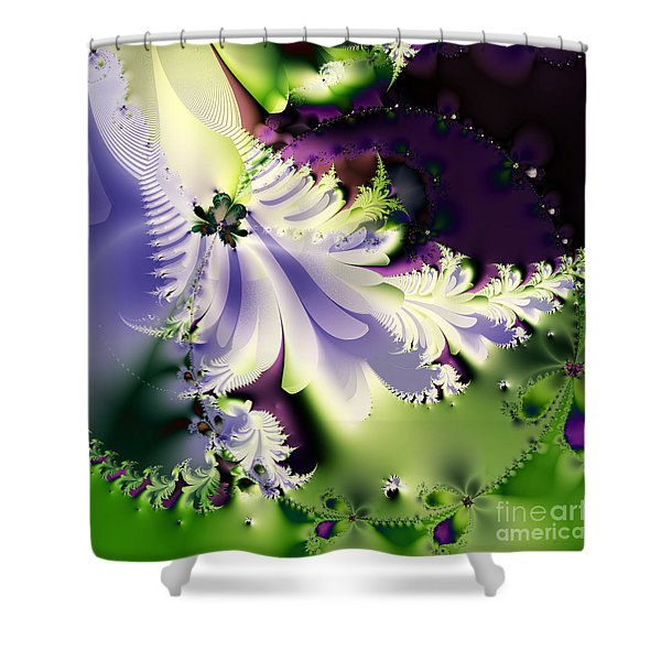 The Butterfly Effect . Version 2 . Square Shower Curtain by Wingsdomain Art and Photography