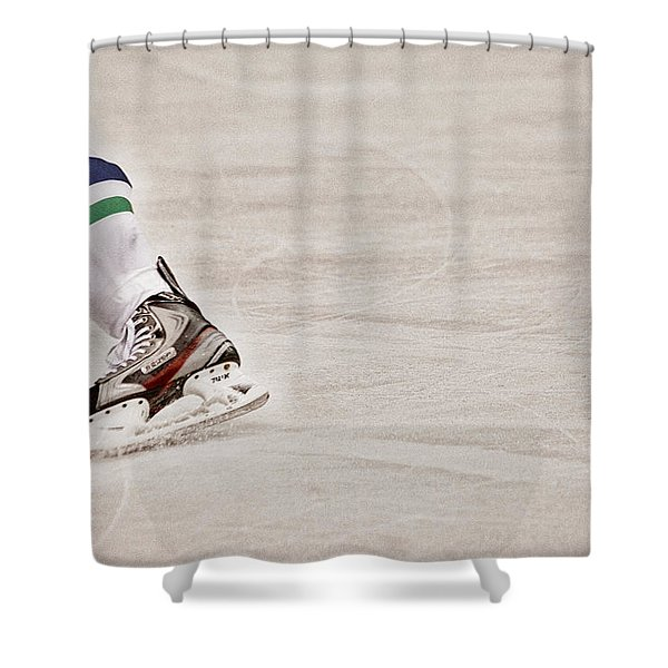 The Edge Shower Curtain by Karol  Livote