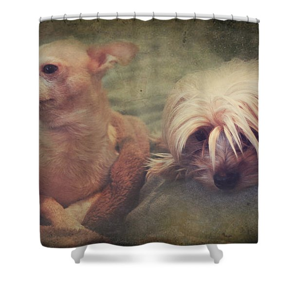 The Girls Shower Curtain by Laurie Search