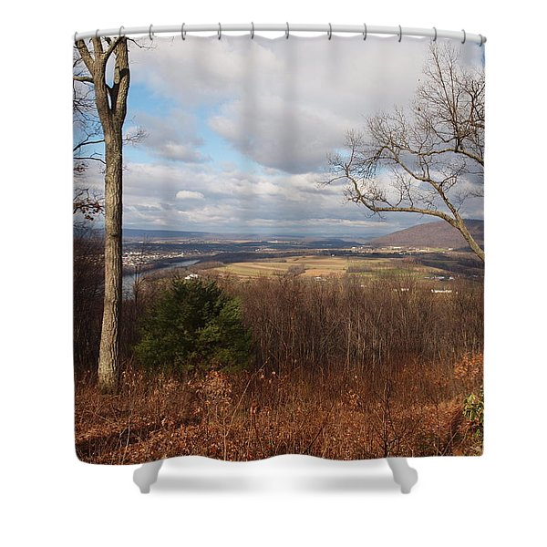 the hills have eyes Shower Curtain by Robert Margetts