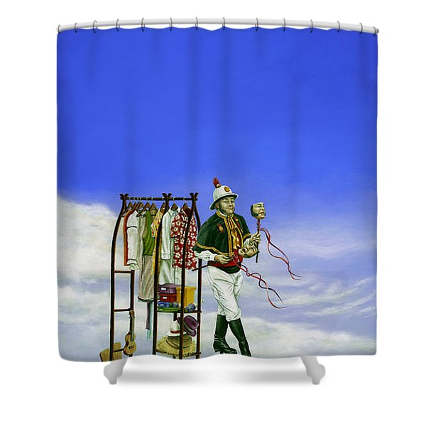 The Journey of a Performer Shower Curtain by Cindy D Chinn