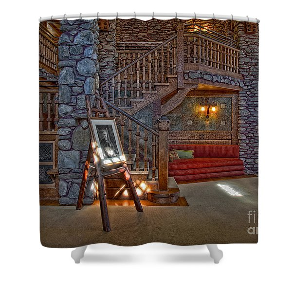 The King's Living Room Shower Curtain by Susan Candelario