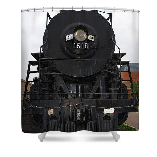 The Last Iron Horse Loc 1518 in Paducah KY Shower Curtain by Susanne Van Hulst