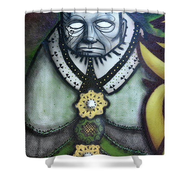 The Leader Shower Curtain by Bob Christopher
