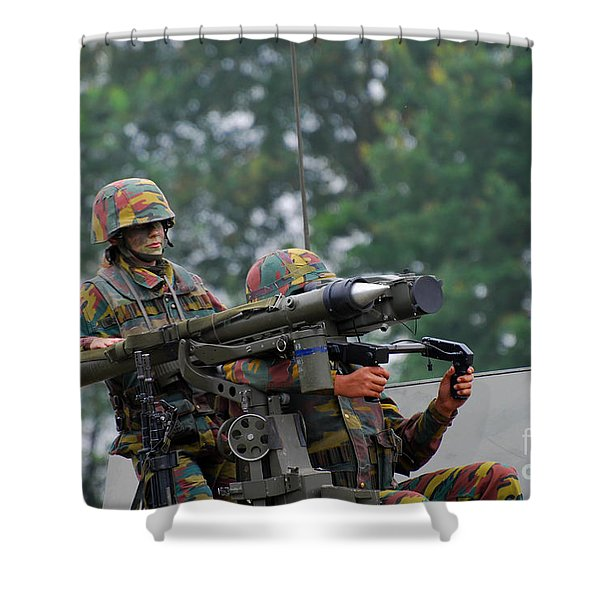 The Mistral Infrared Surface-to-air Shower Curtain by Luc De Jaeger