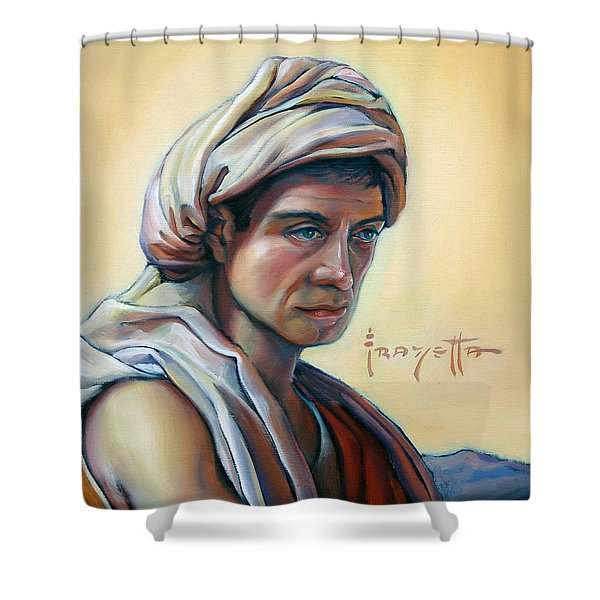 The Prophet Shower Curtain by Patrick Anthony Pierson