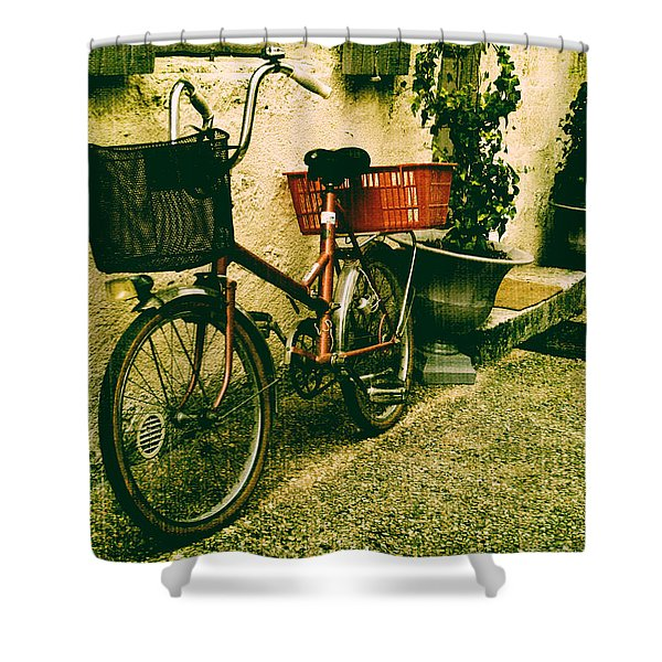 The Quiet Life Shower Curtain by Nomad Art And  Design