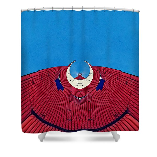 the red dress - Archifou 71 Shower Curtain by Aimelle