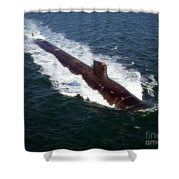 The Seawolf-class Nuclear-powered Shower Curtain by Stocktrek Images