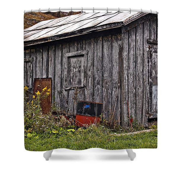The Shed Shower Curtain by Steve Harrington