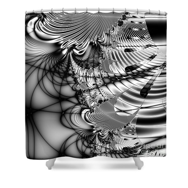 The Web We Weave . Square Shower Curtain by Wingsdomain Art and Photography
