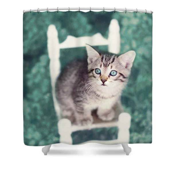 Time Out Shower Curtain by Amy Tyler