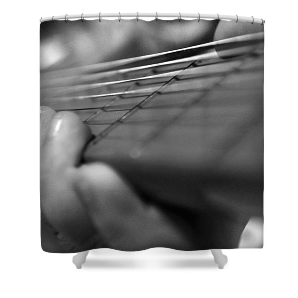 Tiny Hands Shower Curtain by Susan Bordelon