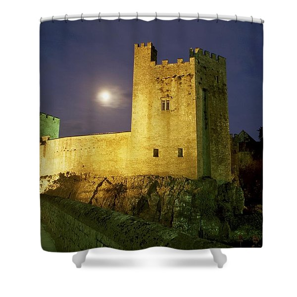 Tipperary, General Shower Curtain by Richard Cummins