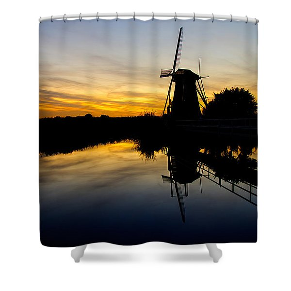 Traditional Dutch Shower Curtain by Chad Dutson