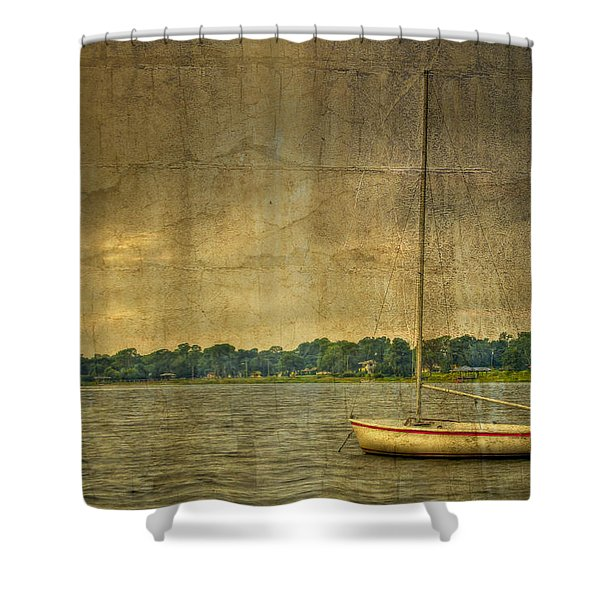 Tranquility Shower Curtain by Debra and Dave Vanderlaan