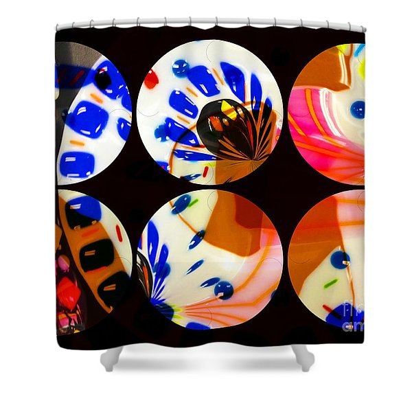 Tres 2 Shower Curtain by Cheryl Young