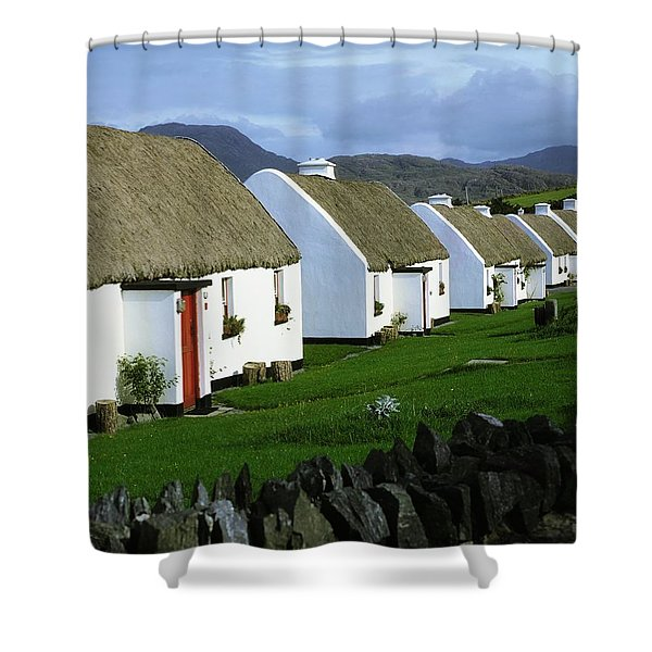 Tullycross, Co Galway, Ireland Holiday Shower Curtain by The Irish Image Collection