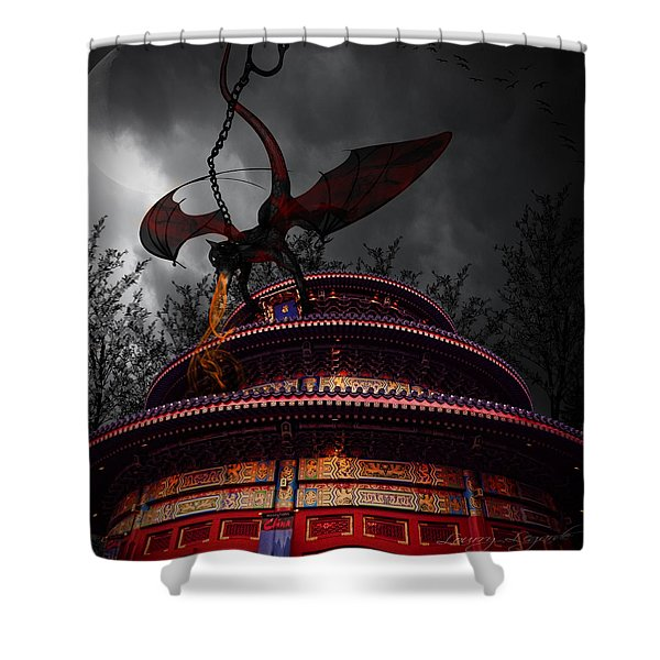 Unchained Protector Shower Curtain by Lourry Legarde