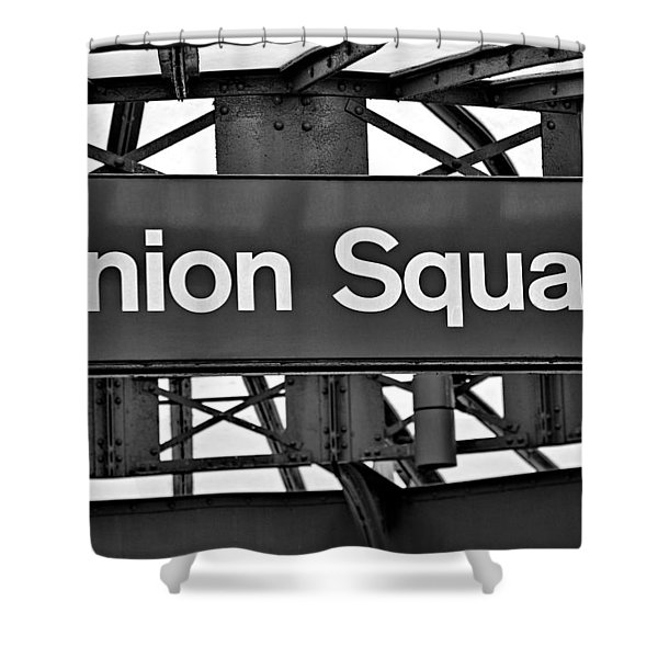 Union Square  Shower Curtain by Susan Candelario