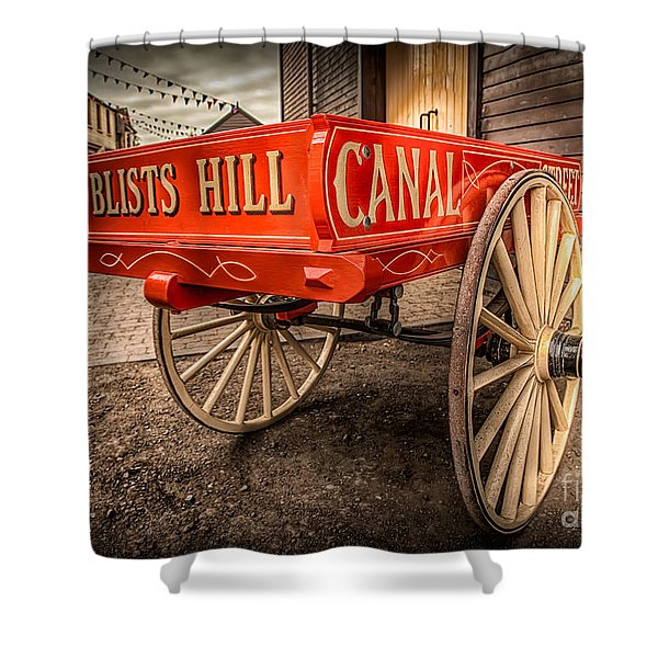 Victorian Cart Shower Curtain by Adrian Evans