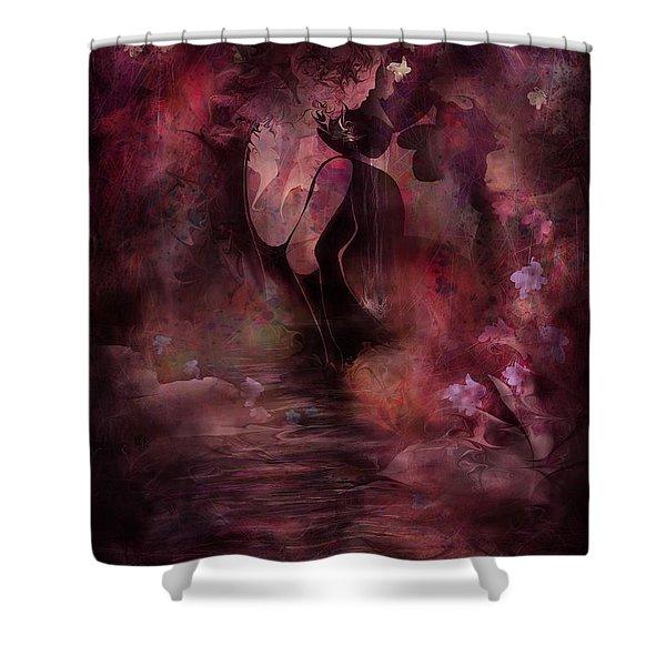 Victorian Dreams Shower Curtain by Rachel Christine Nowicki