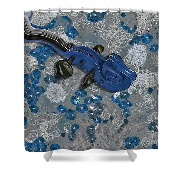 Violinelle - V02-09a Shower Curtain by Variance Collections
