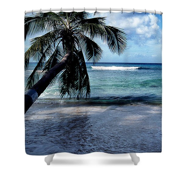 WARM WATER SHADE Shower Curtain by Skip Willits