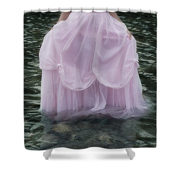 water bride Shower Curtain by Joana Kruse