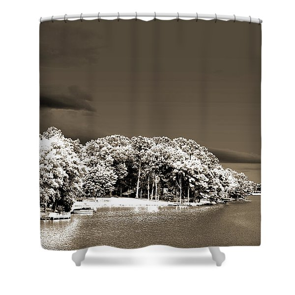 Water's Edge Shower Curtain by Barry Jones