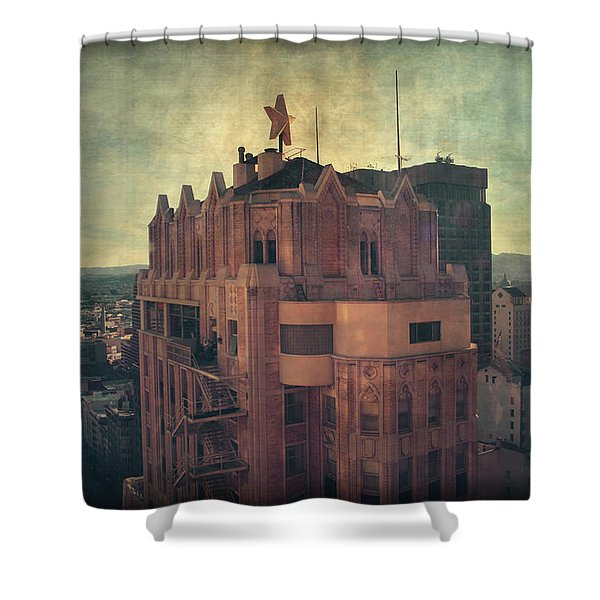 We Are All Made Of Stars Shower Curtain by Laurie Search
