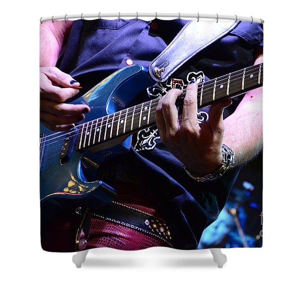 We Will Rock You Shower Curtain by Bob Christopher