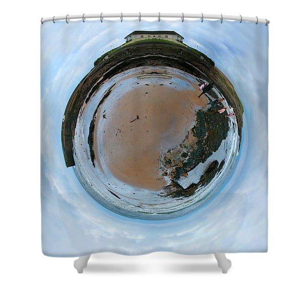 Wee Rossnowlagh Beach Shower Curtain by Nikki Marie Smith